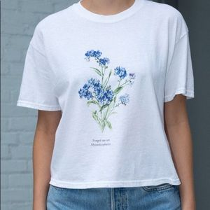 Aleena Forget Me Not flower t-shirt